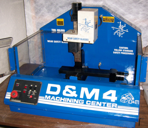 One trashed CNC Mill